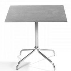 MODENA • Bistrotisch / Gartentisch • 70×70cm • div.Tischplatten • Fischer Möbel