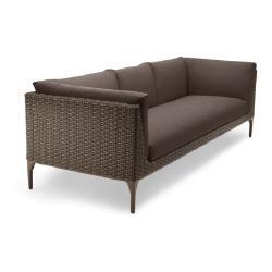 MU • 4-Sitzer Sofa • ohne Polster • Vulcano oder Lipari • DEDON