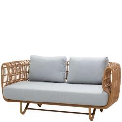 NEST OUTDOOR • 2-Sitzer-Sofa • Farbe Natur • Cane-line