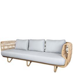 NEST OUTDOOR • 3-Sitzer-Sofa • Natur • Cane-line