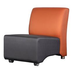 NOXO • Outdoor Loungemodul EINZEL-Element • SILVERTEX • Farben frei wählbar • PAVILLA