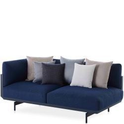 ONDE • Loungemodul 1 • 2-Sitzer LINKS • inkl.Polster • div.Farben • GANDIA BLASCO