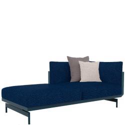 ONDE • Loungemodul 2 • Chaiselongue LINKS • inkl.Polster • div.Farben • GANDIA BLASCO