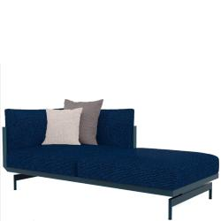 ONDE • Loungemodul 2 • Chaiselongue RECHTS • inkl.Polster • div.Farben • GANDIA BLASCO