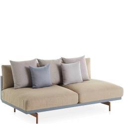 ONDE • Loungemodul 4 • 2-Sitzer MITTE-Element • inkl.Polster • div.Farben • GANDIA BLASCO