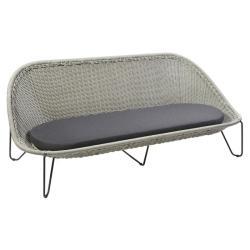 PASTURO • Outdoor 2-Sitzer Sofa • Eisengrau • BOREK