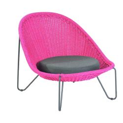 PASTURO • Outdoor Loungesessel / Loungechair • Fuchsia • BOREK