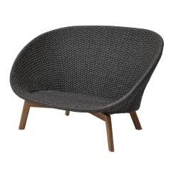 PEACOCK • 2-Sitzer Sofa • Dark Grey • cane-line