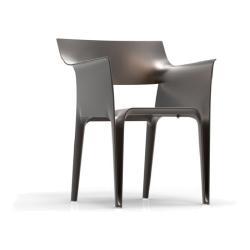 PEDRERA • 4er-Set • Gartenstuhl mit Armlehnen / Stapelstuhl • VONDOM