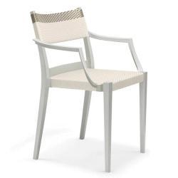 PLAY • Gartenstuhl mit Armlehnen / Stapelstuhl • DEDON