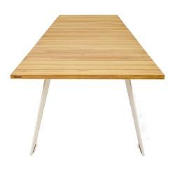 PONTSUN • Gartentisch • 324x110cm • Gestell galvanisiert oder pulverbeschichtet • EXTREMIS