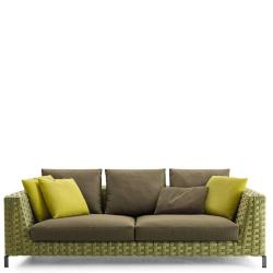 RAY OUTDOOR • 4-Sitzer-Sofagestell • Tiefe 111cm • div.Farben • B&B Italia