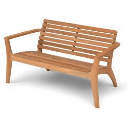 REGATTA • 2-Sitzer Lounge-Bank Teak • SKAGERAK