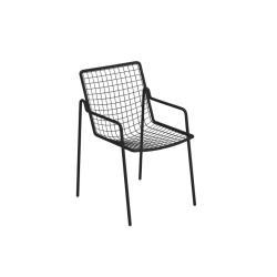 RIO R 50 • Gartenstuhl mit Armlehne • 4er-Set • div.Farben • EMU