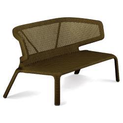 SEASHELL • Outdoor 2-Sitzer Sofa • stapelbar • Bronze • DEDON