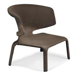 SEASHELL • Outdoor Loungesessel / Loungechair • stapelbar • Bronze • DEDON