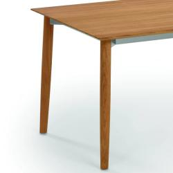 SLOPE • Gartentisch / Esstisch • 240×90cm • Gestell Teak • Platte in HPL oder Teak • WEISHÄUPL