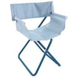 SNOOZE • Gartenstuhl mit Armlehnen / Klappstuhl • Blau / Hellblau • EMU