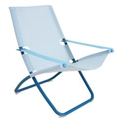 SNOOZE • Klappsessel / Relaxsessel • Blau / Hellblau • EMU