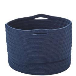 SOFT • Korb • Ø40×H27cm • Link Blau • Cane-line