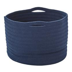 SOFT • Korb • Ø40xH27cm • Strickware • Blau • cane-line