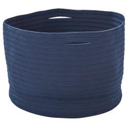 SOFT • Korb • Ø53xH38cm • Strickware • Blau • cane-line