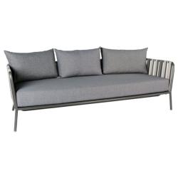 SPACE • Outdoor 3-Sitzer Sofa • Anthrazit • STERN