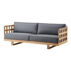 SQUARE • 3-Sitzer Sofa • Teak • cane-line