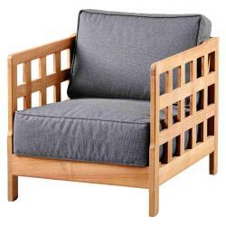 SQUARE • Loungesessel / Loungechair • Teak • cane-line