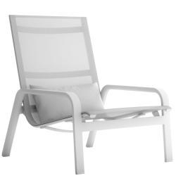 STACK • Deep-Sit-Loungsessel / Loungechair • stapelbar • div.Farben • GANDIA BLASCO