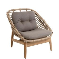 STRING TEAK • Outdoor Loungesessel / Loungechair • Farbe Natur • Cane-line