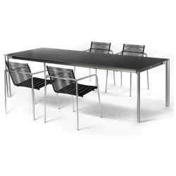 SWING • Front-Auszugstisch 95x150-210 • div.Tischoberflächen • FISCHER