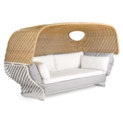 TIGMI • Sofa mit abnehmbarem Dach • inkl. zusätzlichem Polsterset • div.Farben • DEDON