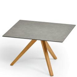TRIO • Outdoor Beistelltisch • 60×60 • div.Gestellfarben & Tischplatten • WEISHÄUPL