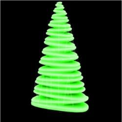 VONDOM • CHRISMY • Weihnachtsbaum-Leuchte 200cm • beleuchtet RGB LED