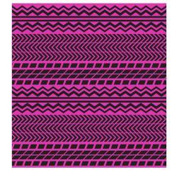 VONDOM Outdoor-Teppich PIANO PIANO • 200 x 200cm • Farbe pink