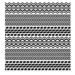 VONDOM Outdoor-Teppich PIANO PIANO • 200 x 200cm • Farbe weiß