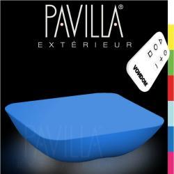 VONDOM PILLOW • Lounge Couchtisch • beleuchtet RGB • 7 Farben • inkl. Fernbedienung