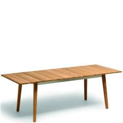 WIPP • ausziehbarer Gartentisch • 180-225cm • Teak • WEISHÄUPL