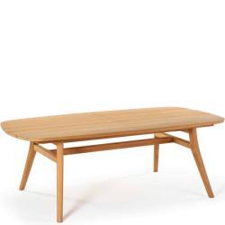 ZIDIZ • Gartentisch / Esstisch • 220×120cm • Teakgestell & div.Platten • ROYAL BOTANIA