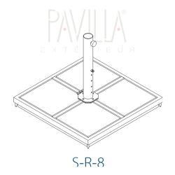 Zubehör • Metallrahmenständer • S-R-12 • Schirmgröße B • STRUCTURELAB