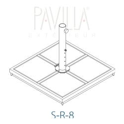 Zubehör • Metallrahmenständer • S-R-20 • Schirmgröße C • STRUCTURELAB