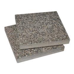 Zubehör MEZZO / DACAPO / FILIUS • Waschbetonplatten für Standrahmen oder Standkreuz • May Schirmsysteme