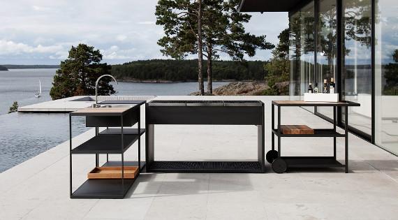 Moderne Outdoor Küchen : Outdoorküchen zuhausewohnen