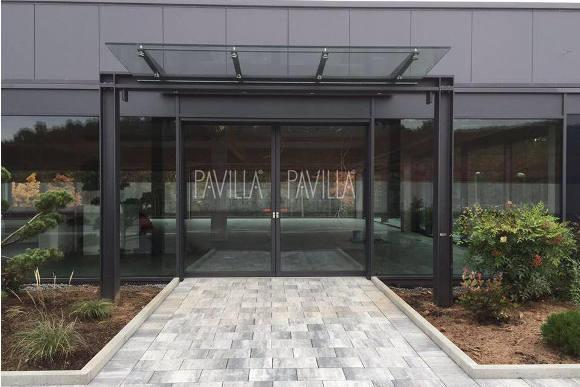 Eingang Pavilla